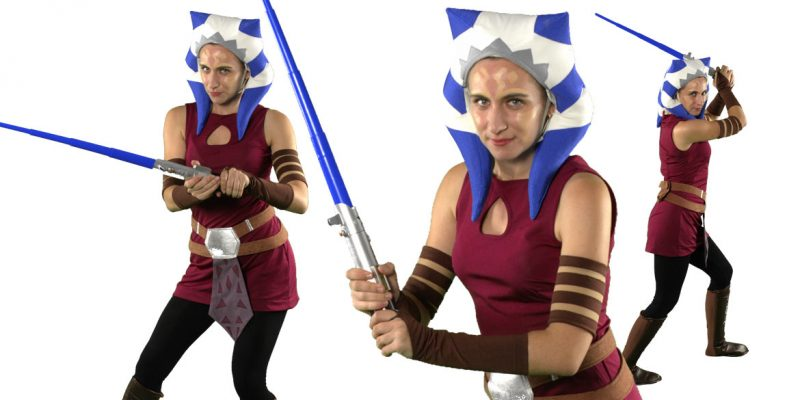 star wars themed jedi kids birthday party entertainment Ahsoka Tano