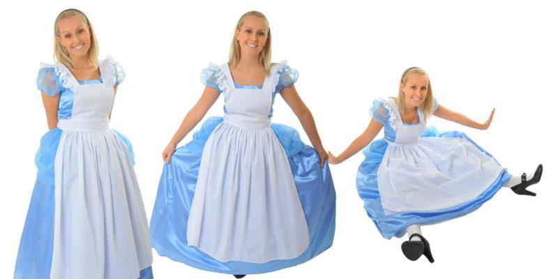 Image of Alice in Wonderland birthday party entertainer at Alice in Wonderland party in Sydney from Superheroes Inc