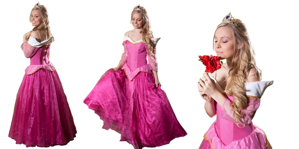 Image of Sleeping Beauty birthday party entertainer in Sydney from Superheroes Inc