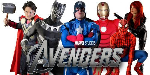 Avengers Kids party entertainers Sydney Superheroes Inc