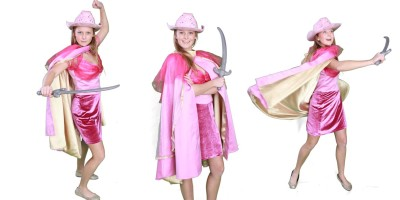 Princess themed party entertainment Barbie Musketeer