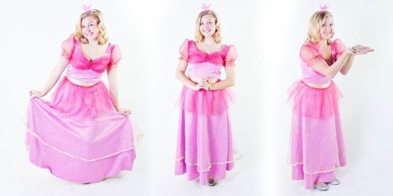 Princess themed party entertainment Barbie Princess