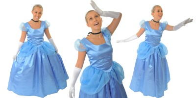 Image of Cinderella Princess themed party entertainer