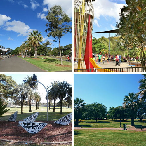 Enmore Park Party Ideas venues and services for children's birthday parties in Sydney's Inner West