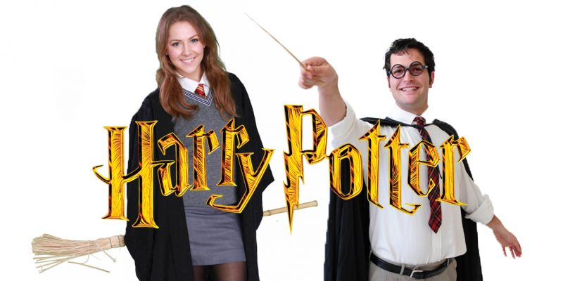 Image of Harry Potter and Hermione Granger party entertainers in Sydney