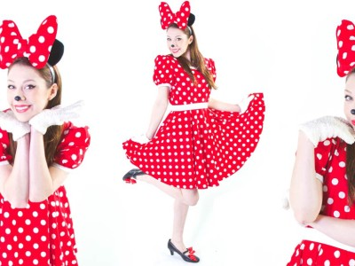 Image of Minnie mouse birthday party entertainer in Sydney from Superheroes Inc