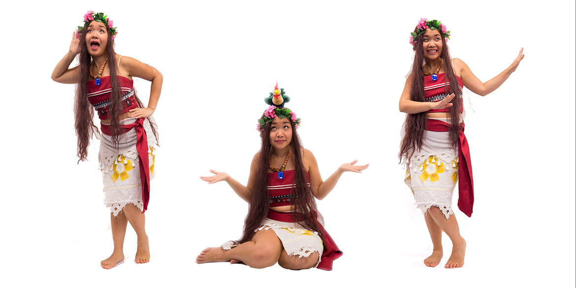 Moana birthday party entertainer in Sydney from Superheroes Inc