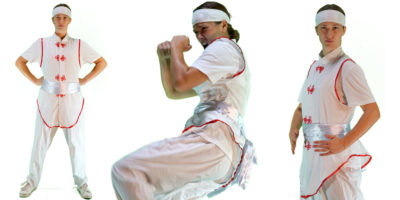 image of our Female Ninja Kids Party Entertainer