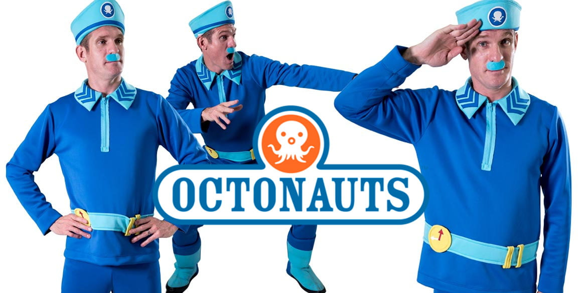 Image of Octonauts kids party entertainer in Sydney from Superheroes Inc