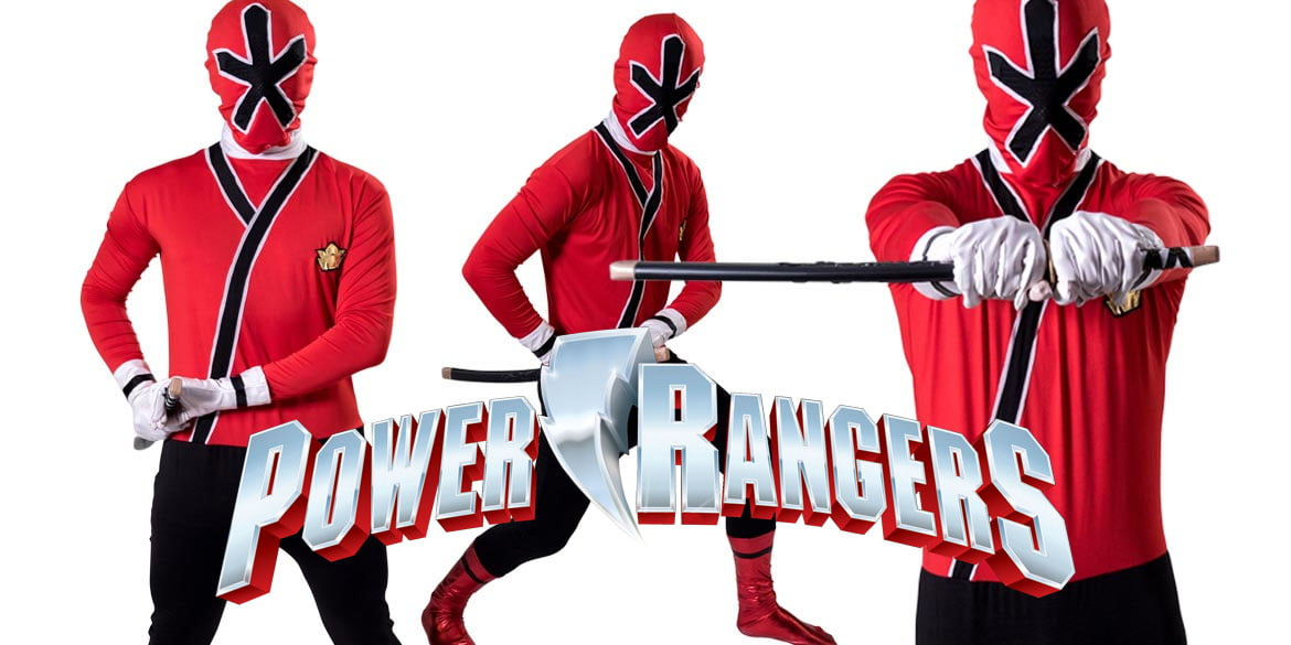 Image of Power Rangers kids party entertainer in Sydney from Superheroes Inc