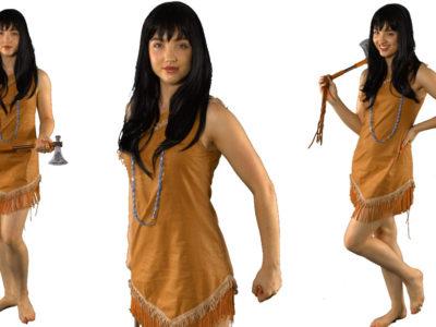 Pocahontas Princess themed kids party entertainer
