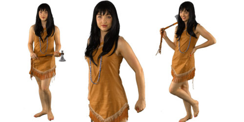 Pocahontas Princess themed kids party entertainer