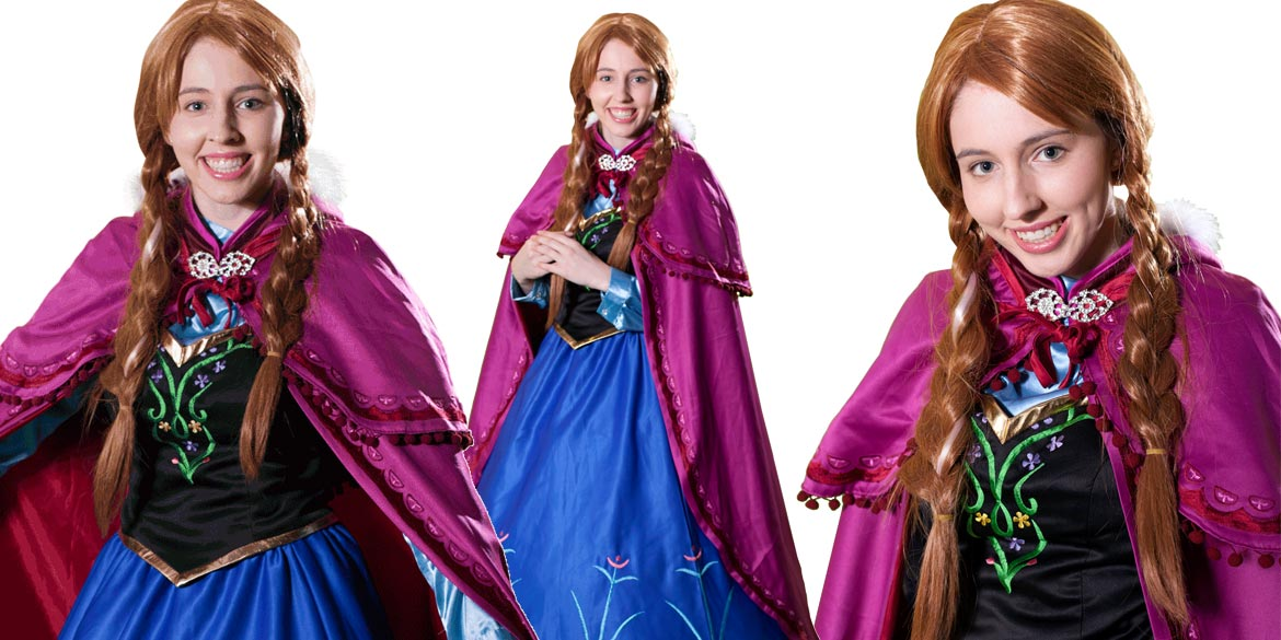Image of Princess Anna kids party entertainer in Sydney