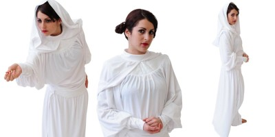 Image of Princess Leia Star Wars kids party entertainer in Sydney from Superheroes Inc