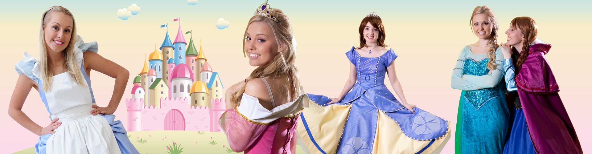 Image of Princess kids party entertainers in Sydney from Superheroes Inc