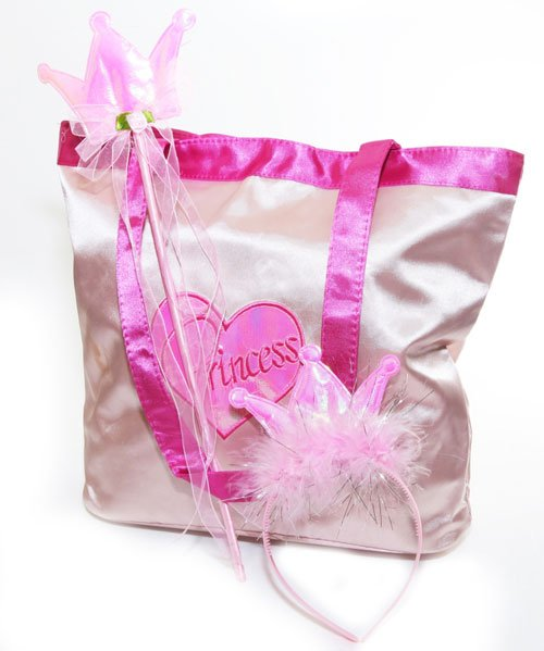 Image of princess birthday party gift bag from Superheroes Inc in Sydney