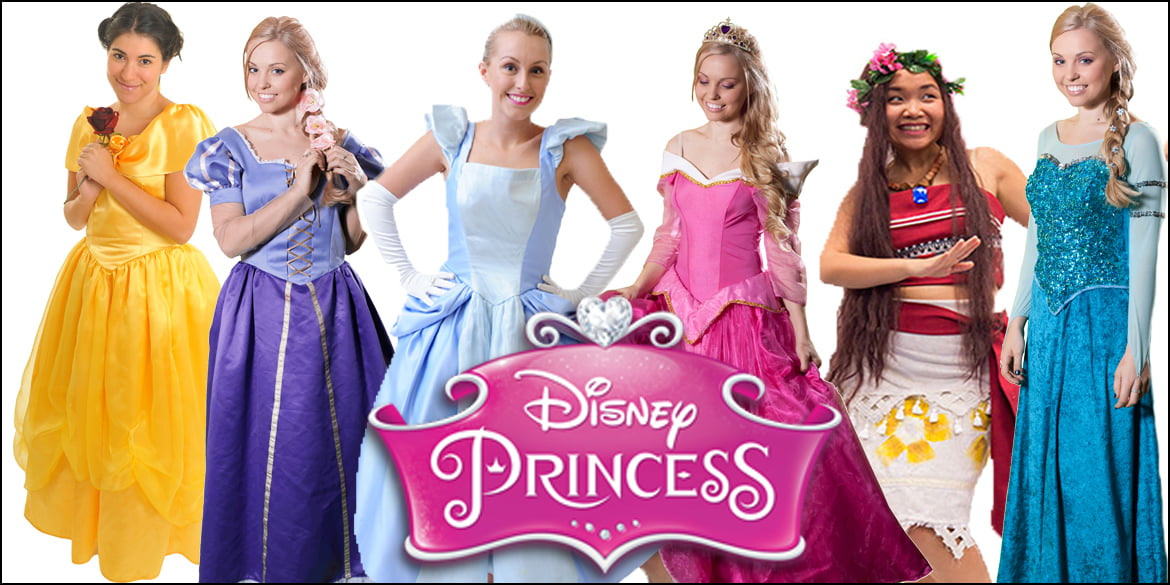 Image of princess kids party entertainers in Sydney