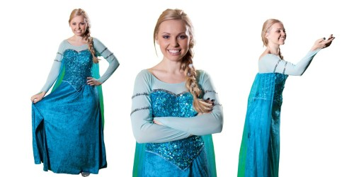 Image of Elsa at Frozen birthday party in Sydney from Superheroes Inc