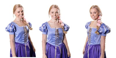 Image of Rapunzel princess kids party entertainer in Sydney from Superheroes