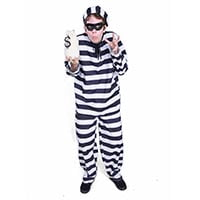 Image of robber kids party entertainer in Sydney from Superheroes Inc