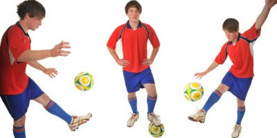 Image of soccer birthday party in Sydney from Superheroes Inc