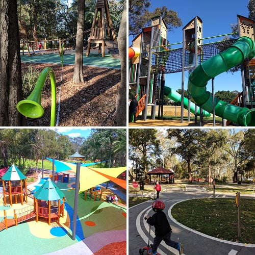 Strathfield Park Party Ideas venues and services for children's birthday parties in Sydney's Inner West