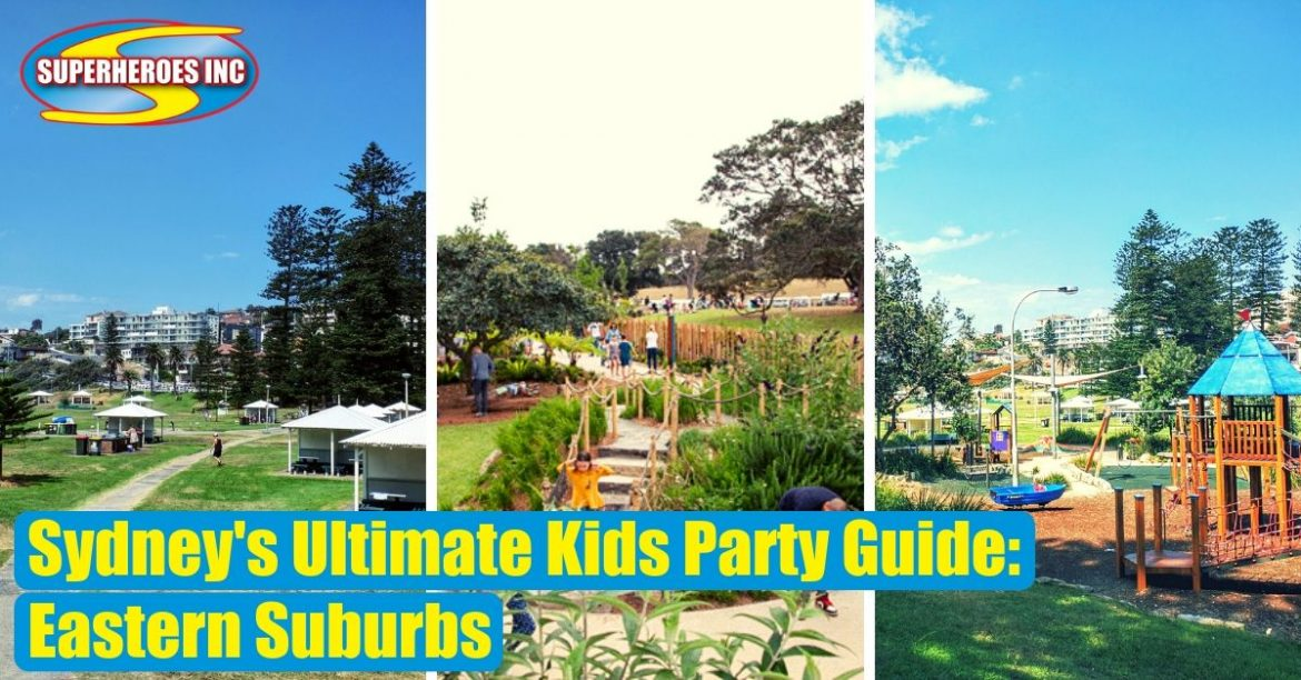 Sydney's Ultimate Kids Party Guide Eastern Suburbs Superheroes Inc Pt1