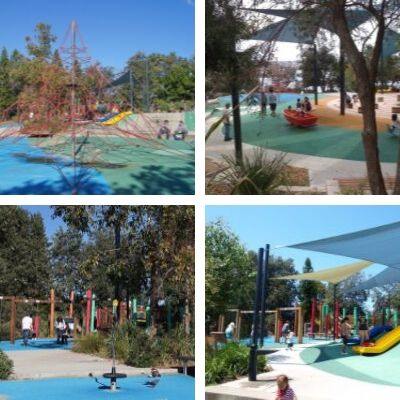 Sydney's Ultimate Kids Party Guide Superheroes Inc Eastern Suburbs Grant reserve playground