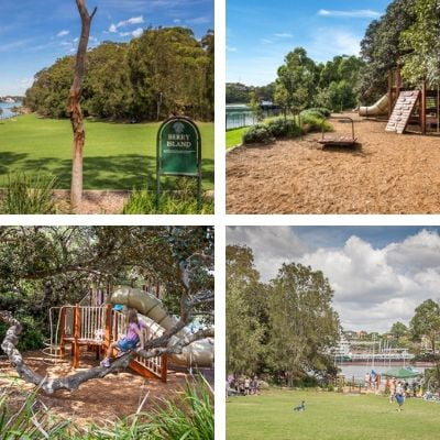Sydney's Ultimate Kids Party Guide Superheroes Inc North Shore Berry Island Reserve Wollstonecraft