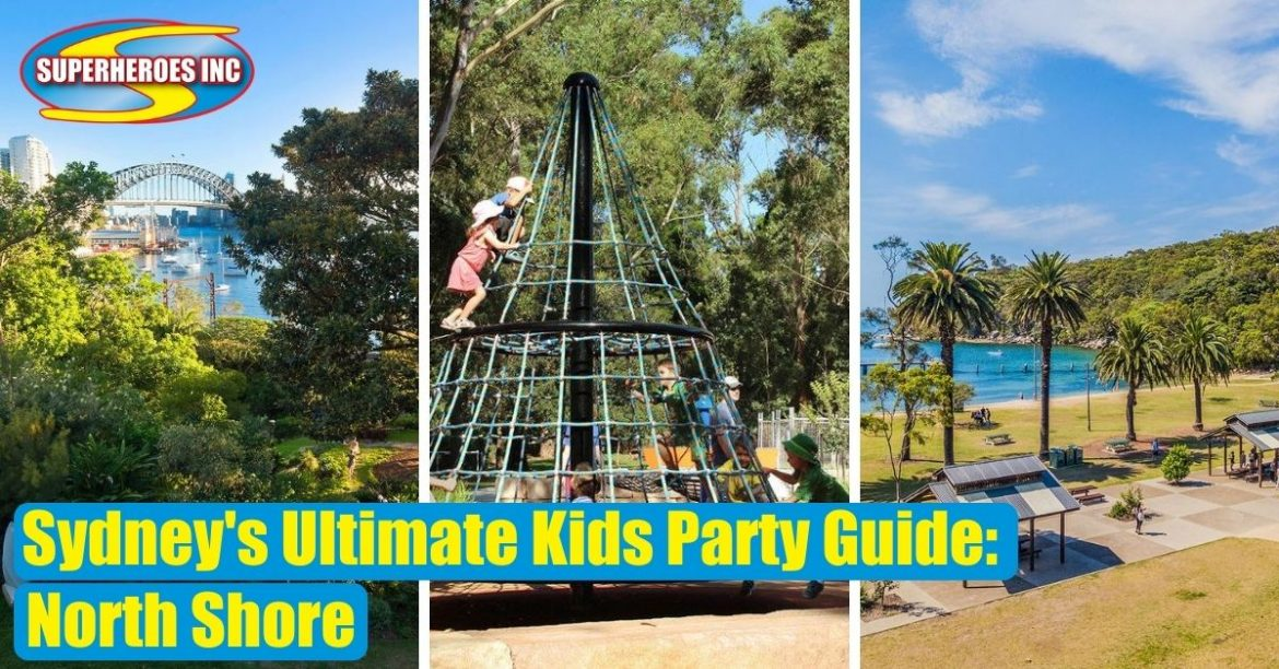 Sydney's Ultimate Kids Party Guide Superheroes Inc North Shore COVER PHOTOS