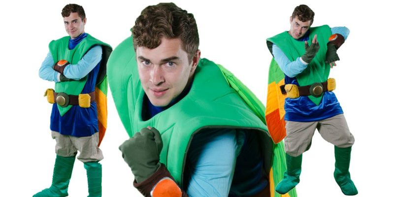 Image of Tree Fu Tom kids party entertainer in Sydney from Superheroes Inc