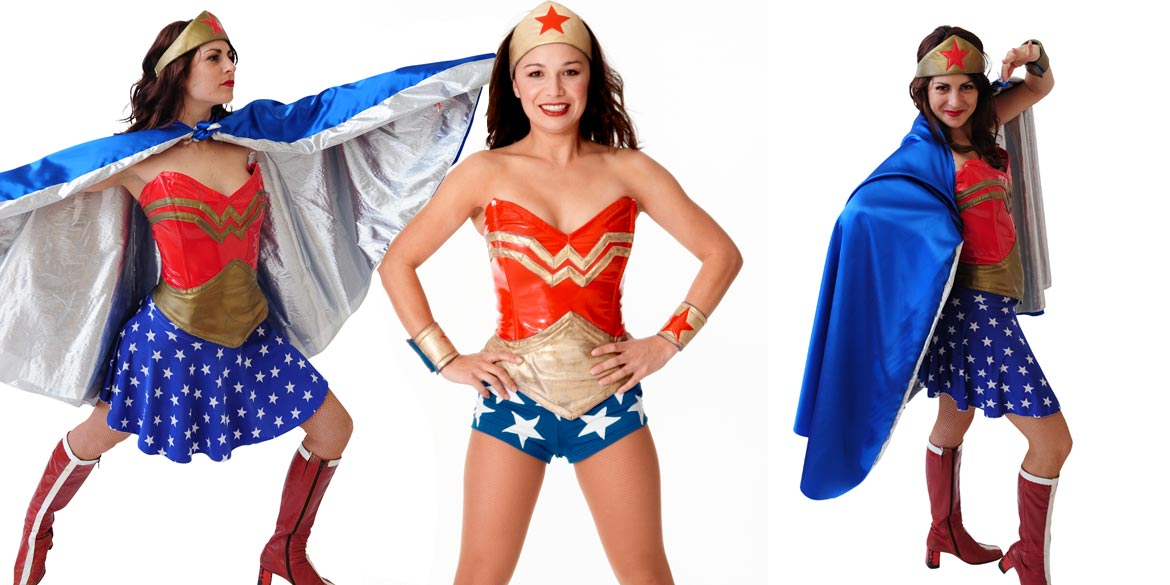 Image of Wonder Woman kids party entertainer in Sydney from Superheroes Inc