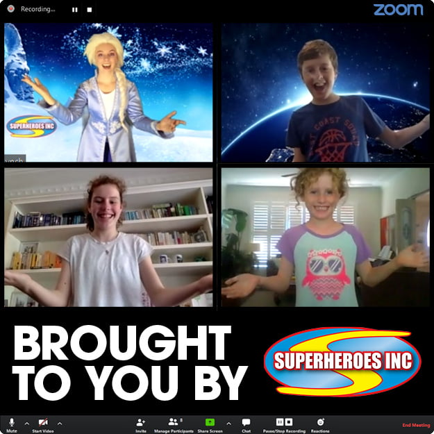 Zoom Virtual Party Entertainment - Superheroes Inc (5)