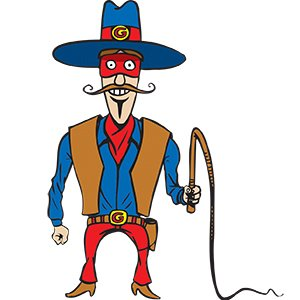 picture of Kids Party Entertainment Cowboy Cartoon character