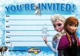 Frozen invite small