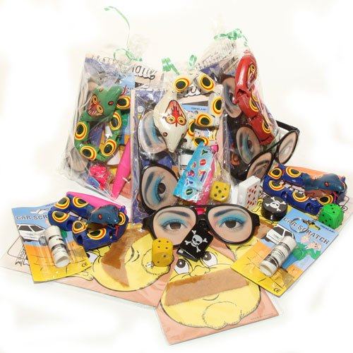 Image of boys party bags from Superheroes Inc