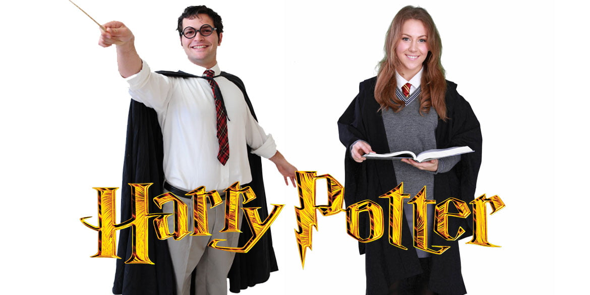 Harry Potter and Hermione Granger party entertainers Sydney