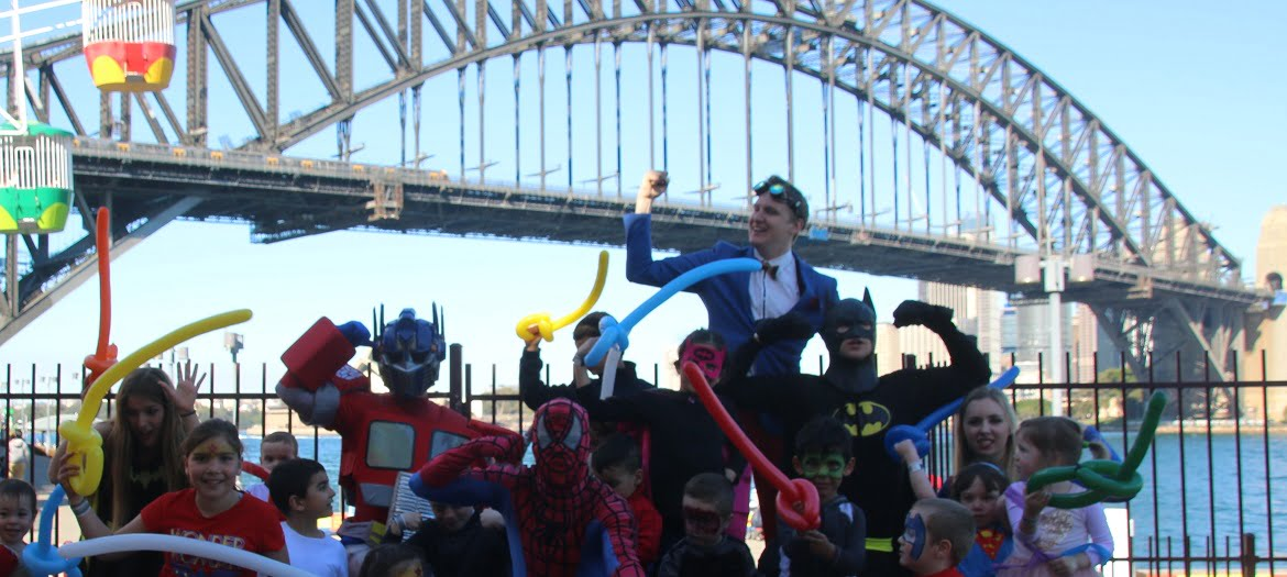 Kids Party Entertainment Transformers Optimus Prime Birthday Party Sydney