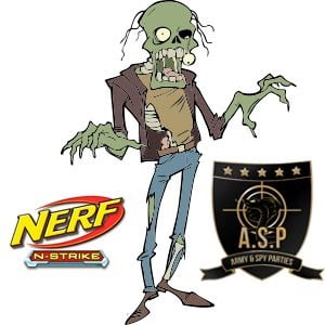 Image of Combat Crew Zombie party entertainer