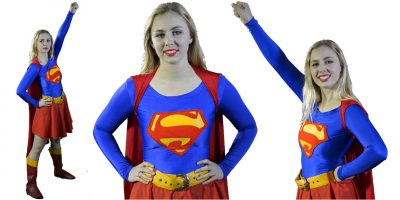 Image of Supergirl Birthday Party Entertainer in Sydney from Superheroes Inc