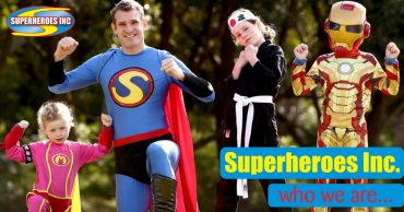 Kids Party Entertainment Superheroes Inc Who we are