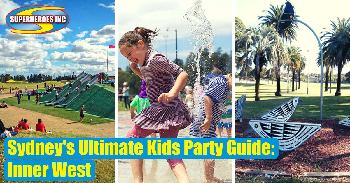 Sydney's Ultimate Kids Party Guide Inner West Superheroes Inc