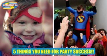 5 THINGS YOU NEED FOR KIDS PARTY SUCCESS