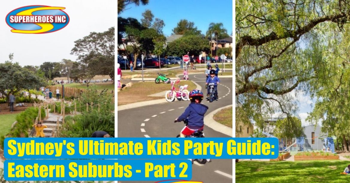 Sydney's Ultimate Kids Party Guide Superheroes Inc Eastern Suburbs SOUTH
