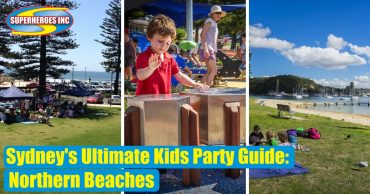 Sydney's Ultimate Kids Party Guide Superheroes Inc Northern Beaches