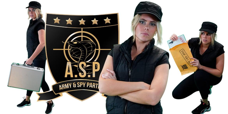 Spygirl kids party entertainment Sydney Superheroes Inc